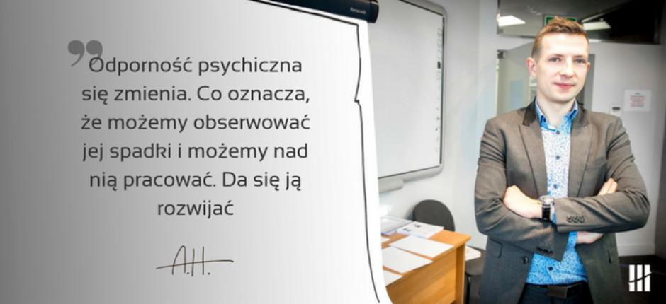Odporność psychiczna w pracy trenera.